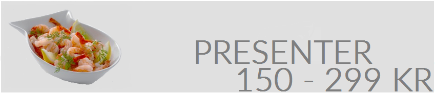 Presenter 150-299 kr.